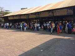 PANVEL ST Bus Stand (Depot) Platform No. 1-7 MSRTC (YOGESH CHOUGHULE) Tags: panvel st bus stand depot platform no 17 msrtc panvelstbusstanddepotplatformno17msrtc