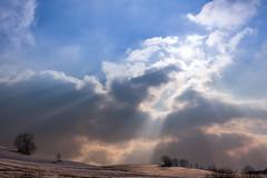 Sunrails Breiten (Bugtris) Tags: breiten schnee burgistein 2470f4l canon landschaft winter 5dmkiii