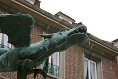 Belgian dragon (Brian Aslak) Tags: tournai doornik hainaut henegouwen wallonie wallonia belgique belgië belgium europe town art dragon