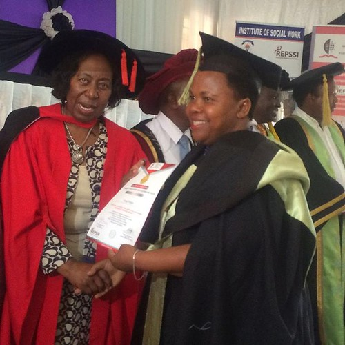 "HUGE congrats to mama Faraji-- she is in Dar Es Salaam right now receiving her certificate for her social work course that she has completed this past year. We are so proud of you mama!!! #educationistheanswer #leadingbyexample • <a style=""font-size:0.8em;"" href=""http://www.flickr.com/photos/59879797@N06/30787367791/"" target=""_blank"">View on Flickr</a>"