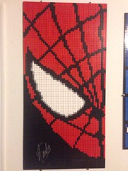 "Spider-Man Mosaic...now signed • <a style=""font-size:0.8em;"" href=""https://www.flickr.com/photos/38446022@N00/30802390146/"" target=""_blank"">View on Flickr</a>"