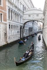Ponte dei Sospiri (My Italian Sketchbook) Tags: venice italy outdoor landscape venezia italia canal canale gondoliere gondolier gondola