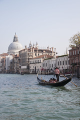 Canal Grande (My Italian Sketchbook) Tags: venice italy outdoor landscape venezia italia canal grande grandcanal canalgrande water gondolier gondoliere