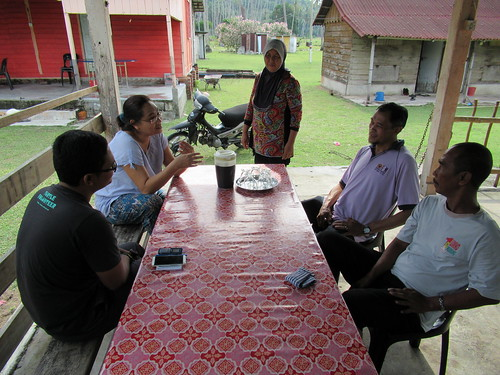 Discussion with Head of The Village at Kampung Duku (2)