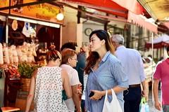 To the food market (alessandrochiolo) Tags: sguardi street 50mm d3300 nikkor nikon mercato market