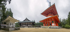 10-photo photomerge on Koyasan (acase1968) Tags: photomerge koyasan japan temple danjo garan nikon d600 nikkor 24120mm f4g