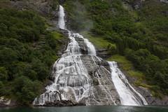 Geiranger waterfall - Norway (Edward Newman Photography) Tags: geiranger geirangerfjorden norway waterfall water nature landscape stream fjord scandinavia