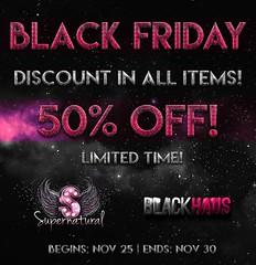 BLACK FRIDAY!!! (Priscila Ledger) Tags: black friday haus supernatural new items off discount second life slink maitreya tmp omega