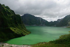 Mount Pinatubo, Luzon, Philippines (ARNAUD_Z_VOYAGE) Tags: islands island philippines landscape boat sea southeast asia city people volcano amazing asian moutains sunset mount pinatubo luzon cabusilan mountains active stratovolcano lake moutain volcanic indigenous aetas provinces zambales tarlac pampanga kids green sun clouds shadow light
