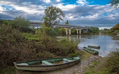 river Kupa (10) (Vlado Fereni) Tags: riverkupa rivers autumn autumncolours bridges hrvatska boats croatia nikond600 nikkor2485284 sky cloudy clouds