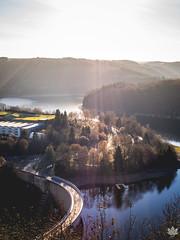Dam (Mark Hosmar) Tags: luxembourg dam esch sure nature outdoor olympus omd naturpark