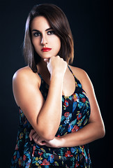 Debora 2 (Lestatillo) Tags: portrait retrato o posing retouching retoque