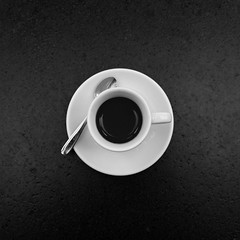 al centro (Thomas De Faveri) Tags: photomarathon milano italy photo coffe caff espresso minimal 1x1 blackwhite photography