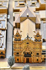 Iglesia del Carmen. Church of Carmen (ironde) Tags: carmen maqueta iglesia eclisse ironde nikond7000 jon errazkin cádiz cadiz cadix andalucía andalousie andalusia españa spain church torres museo museum model
