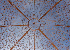 329/366 Copper Dome (Helen Orozco) Tags: 2016366 copper dome sky nobhill albuquerque newmexico canonrebelsl1 up skyward