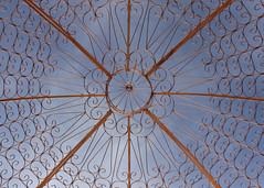 329/366 Copper Dome (Helen Orozco) Tags: 2016366 copper dome sky nobhill albuquerque newmexico canonrebelsl1 up skyward