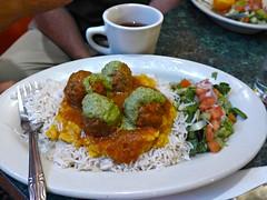 Kofta & Daal, another great dish at Khyber Pass Cafe, St. Paul, MN (ali eminov) Tags: stpaul minnesota restaurants cafes afghanicuisine food kofta daal khyberpasscafe salads twincities