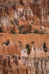 layers of hoodoos (Mr. Greenjeans) Tags: utah brycecanyon abstract mountainous hoodoos