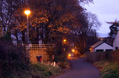 Morning, Noon, and Night (wheehamx) Tags: west kilbride night