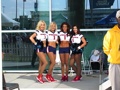 IMG_6877 (grooverman) Tags: houston texans cheerleaders nfl football game nrg stadium texas 2016 budweiser plaza nice sexy legs stomach canon powershot sx530