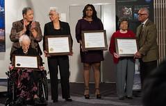 Hidden Figures Award Ceremony (NHQ201612010029) (NASA HQ PHOTO) Tags: hampton usa christinerichie virginiaairandspacecenter va katherinejohnson charlesbolden nasa aubreygemignani