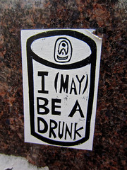 I (May) Be A Drunk, Augusta, GA (Robby Virus) Tags: augusta georgia beer can drawing sketch art sticker slap i may be drunk alcohol alcoholic