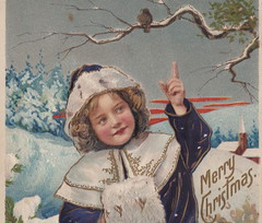 "Antique CHRISTMAS c.1908 WELL DRESSED GIRL POINTING TO HEAVEN ON CHRISTMAS Rich Color Great Fur Trimmed Clothing Embossed German Printed Publisher UNK1 (UpNorth Memories - Donald (Don) Harrison) Tags: christmas santa jesus vintage antique postcard rppc ""don harrison"" ""upnorth memories"" upnorth memories upnorthmemories michigan history heritage travel tourism ""michigan roadside restaurants cafes motels hotels ""tourist stops"" ""travel trailer parks"" campgrounds cottages cabins ""roadside entertainment"" ""natural wonders"" attractions usa puremichigan "" ""railroad ferry"" ""car excursion"