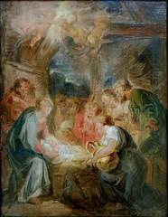 L'adoration des bergers (copie d'une esquisse de Rubens), Jean-Honor Fragonard. (Lejeune Grgory) Tags: france art museum painting muse peinture lille palaisdesbeauxartsdelille jeanhonorfragonard
