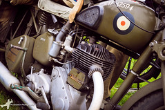 Seething Air Day 2015 (Pete19s) Tags: airshow motorcycle bsa vintagebike bsam20 seethingairfield seethingcharityairday seethingcharityairday2015