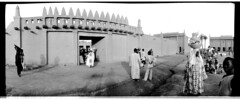 DjenneMali1981a (sulaiman.ellison) Tags: africa blackandwhite film monochrome design kodak trix architectural 400 westafrica mali djenne wideluxf7