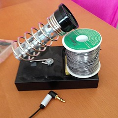 Ultimate Ears new stereo jack soldered... (bigburger100) Tags: phew uploaded:by=flickstagram instagram:photo=44779766094231176115703559