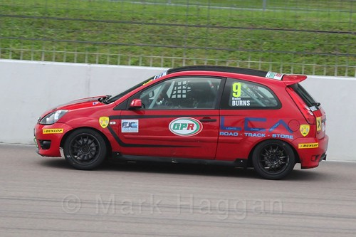 Bradley Burns in Race 2, Fiesta Junior Championship, Rockingham, Sept 2015