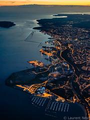 _D812298 : Les ports de Brest (Brestitude) Tags: city night port marina harbor brittany bretagne aerial breizh brest nuit ville finistere aérien rade moulinblanc brestitude ©laurentnevo
