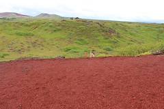 Iceland 8.22.15 4488 (mkalbis) Tags: kerith volcaniclake redsoil iceland2015
