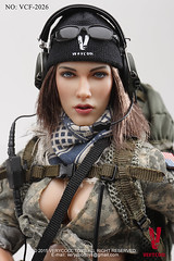 VERYCOOL TOYS VCF-2026 ACU Camo Female Shooter - 14 (Lord Dragon 龍王爺) Tags: hot scale toy doll action figure 16 12in verycool meganfox onesixth