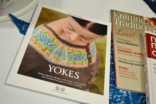 Kate Davies book fan photo