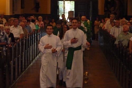 Pożegnanie i powitanie księży wikarych