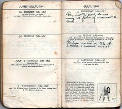 Week 27 June 29th  July 5th 1941 (richardmlevett) Tags: hurricane jerry malta b17 naples sicily blenheim convoy beaufort 1941 raf wimpy iti sliema valletta valetta airraid whitley luqa hmsnaiad wardiary takali siegeofmalta