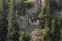 Artilleriewerk + Infanteriewerk Euschels Gaston 2b A1743 ( Bunker - Felswerk - Militrbunker ) der Sperre - Sperrstelle Euschels der Reduitbrigade 21 des zweiten Weltkrieg auf dem Euschelspass in den Alpen - Alps im Kanton Freiburg - Fribourg der Schweiz (chrchr_75) Tags: chriguhurnibluemail ch christoph hurni chrchr chrchr75 chrigu chriguhurni oktober 2015 albumzzz201510oktober hurni151005 albumkleinesstachelschweinreduitbrigade21 reduit reduitbrigade 21 reduitbrigade21 landesverteidigung armee militr zweiter weltkrieg second world war anden verdenskrig toinen maailmansota seconde guerre mondiale seconda guerra  tweede wereld oorlog druga wojna wiatowa segunda mundial andra vrldskriget schweiz suisse switzerland svizzera suissa swiss sveitsi sviss  zwitserland sveits szwajcaria sua suiza
