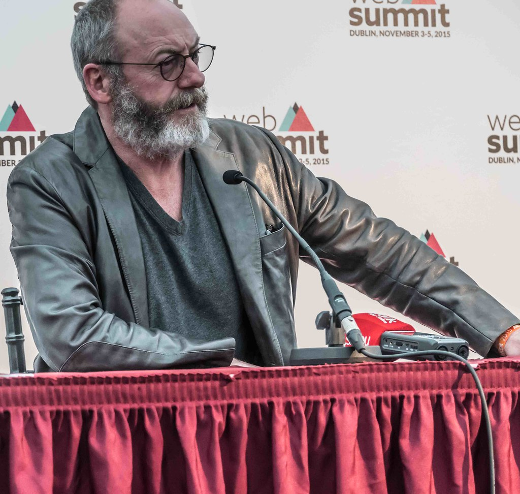 WEB SUMMIT 2015 - LIAM CUNNINGHAM MEETS THE PRESS [ACTOR]-109581