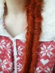IMG_20151018_105037 (Nicolaspeakssometimes) Tags: hair redhead braid plait fishtailbraid