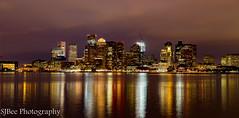 Boston Night Shot (2 of 2) (stuartbeeby72) Tags: panorama boston night chelsea cityscape 2015