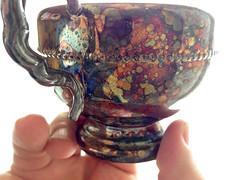 silver wear & tear (Mr.  Mark) Tags: silver spot color colour needspolish cup hand shine antique stock photo markboucher shiny