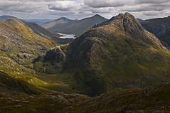 knoydart (ela dzimitko) Tags: light sunset mountains green scotland remote wilderness knoydart