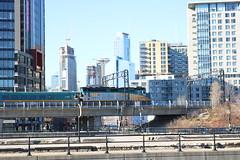 Via coming in to gare centrale Montreal Quebec (cochranephilip) Tags: train via viarail montral via6411