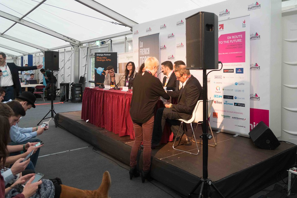 TODAY AT THE WEB SUMMIT THERE WAS A PRESS CONFERENCE HOSTED BY AXELLE LEMAIRE [FRENCH MINISTER RESPONSIBLE FOR DIGITAL AFFAIRS]-109904