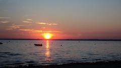 Lac d'Hourtin, Carcans (Cedric Biennais) Tags: france sunrise soleil lac cedric hourtin lever gironde carcans biennais
