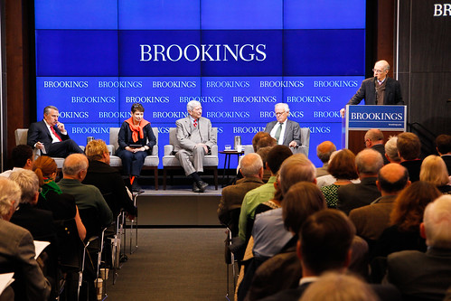 "Brookings President Strobe Talbott introduces panelists at Brookings book launch: ""Putin's Crimean gamble: Russia, Ukraine, and the new Cold War"""