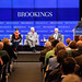Brookings President Strobe Talbott introduces panelists at Brookings book launch: