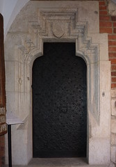 Krakov, univerzita (15) (ladabar) Tags: doorway portal kraków cracow cracovia krakau krakov dveře portál